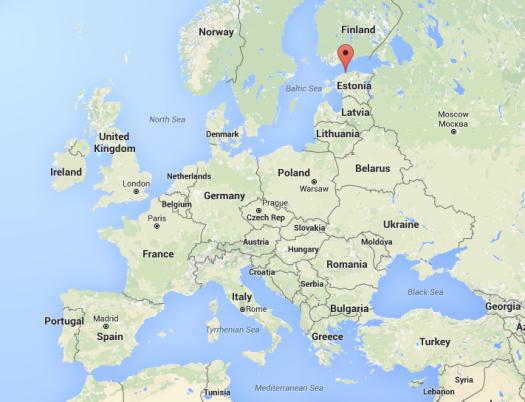 Where is Tallinn, Estonia